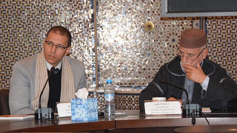 د. محمد السيسي يحاضر بمركز الدراسات القرآنية حول السنن الاجتماعية