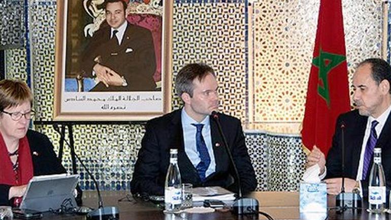 د. أحمد عبادي يناقش بالرباط لقاء مع وزير الداخلية الفنلندي التجربة الدينية الرائدة للمملكة المغربية