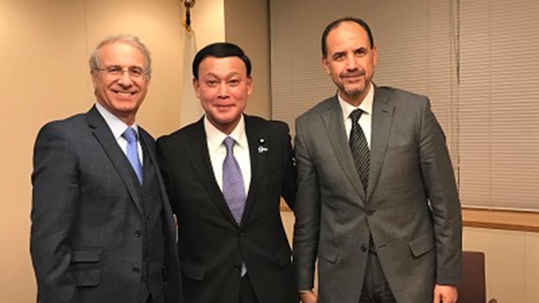 د. أحمد عبادي يشارك في ملتقى اليوم العربي - بطوكيو بحضور رئيس الوزراء الياباني ووزراء وبرلمانيين