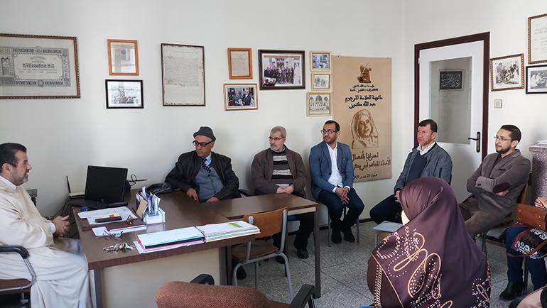 زيارة مؤسسة عبد الله كنون للثقافة والبحث العلمي بمدينة طنجة