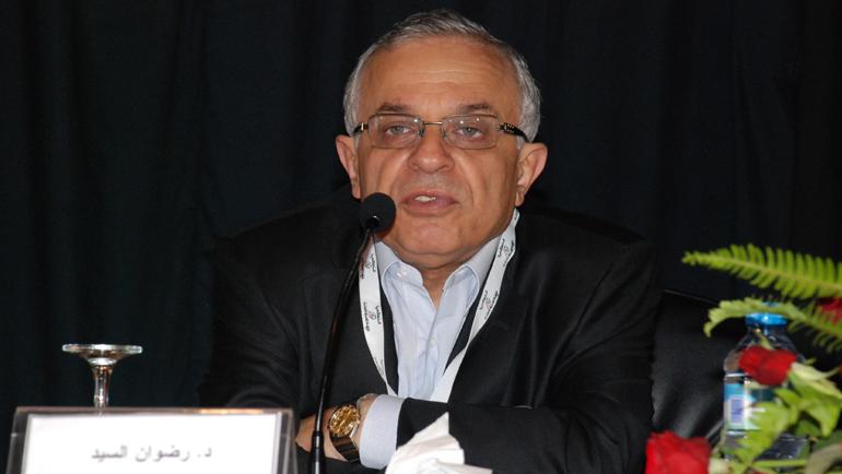 محاضرة المفكر اللبناني رضوان السيد بمناسبة الاحتفاء به من طرف مجلة الإحياء، في يوم دراسي، احتضنته مدينة أكادير، يوم الاثنين 29 مارس 2011.