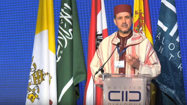 كلمة الأمين العام للرابطة المحمدية للعلماء د.أحمد عبادي في الجلسة الافتتاحية للمؤتمر الدولي بفيينا