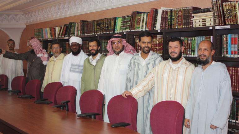 زيارة اللجنة العلمية لكرسي الهدايات القرآنية بجامعة أم القرى بالمملكة العربية السعودية