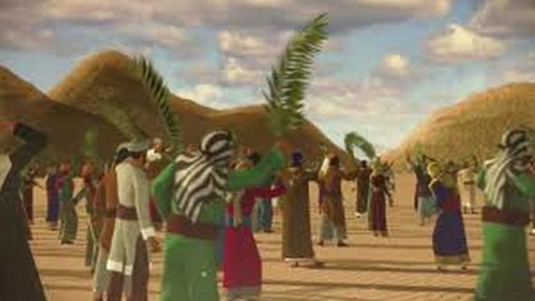 قصة استقبال بنات النجار للنبي ﷺ وغنائهن (طلع البدر علينا) في الهجرة