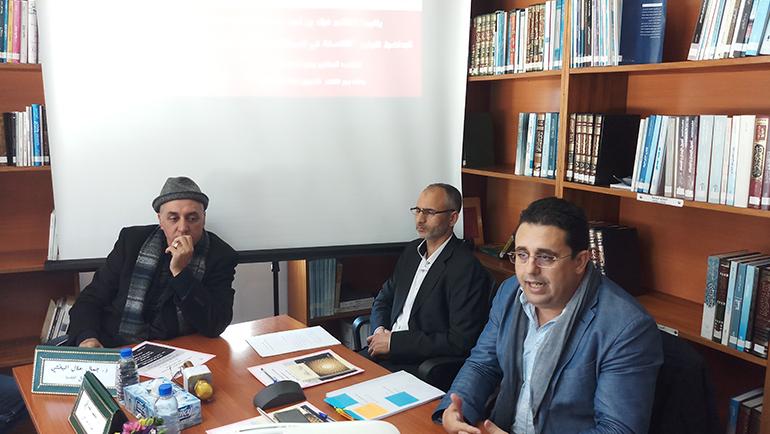 تقرير المحاضرة الأولى من سلسلة المحاضرات الشهرية: «الفلسفة في السياقات الإسلامية من دعوى الموت إلى دعوى التراكم»