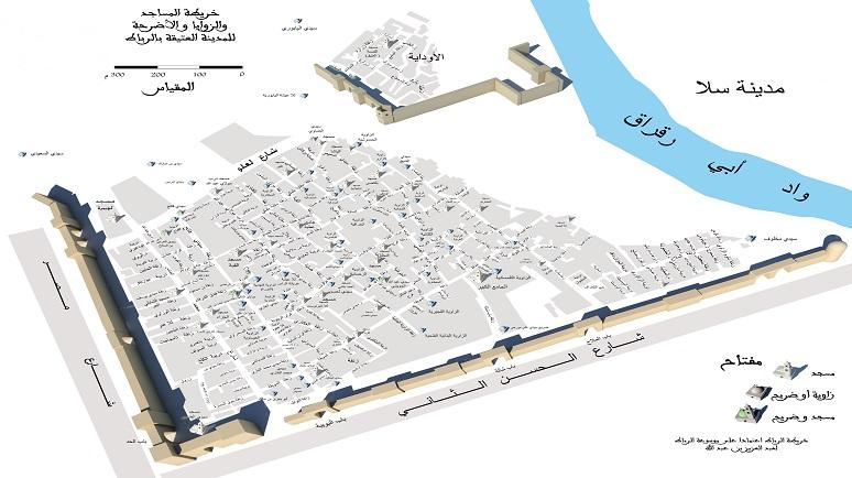 خريطة الرباط