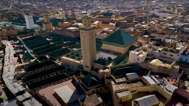 مدينة فاس والبابا سيلفستر الثاني